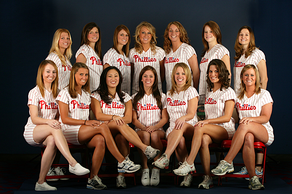 Philadelphia Phillies Ballgirls