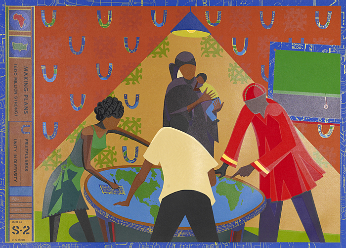 "31, 2008--A new exhibition of African American art, ""In Remembrance: Artists"