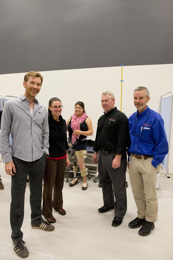Bader testing on prosthesis
