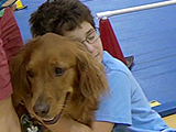 Canine partners with Kids