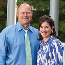 Karen and Mark Huston