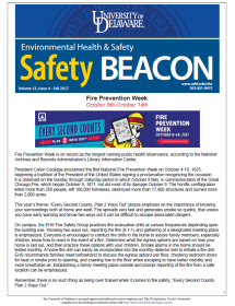 The Safety Beacon Newsletter