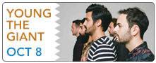 Young the Giant: October 8