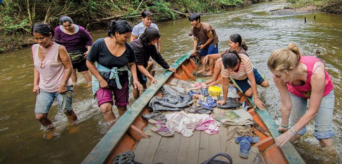 indigenous Ese'Eja people of Peru