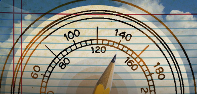 The algorithm of writing