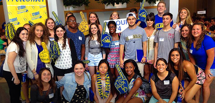 Welcome Blue Hens!