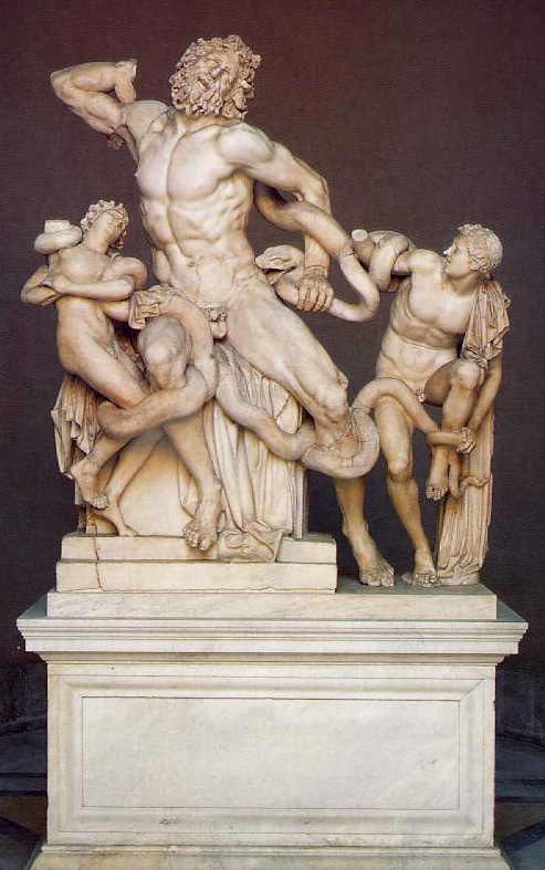 a comparison of laocoon and his two sons by hagesandros polydoros and athenodoros and fall of the da Italy, a poem, 1830, by roy forward, national gallery of australia research paper  and his two sons,  hagesandros, polydoros and athenodoros82.