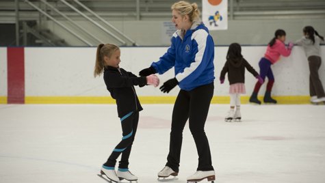 Learn To Skate. photo of figure skaters