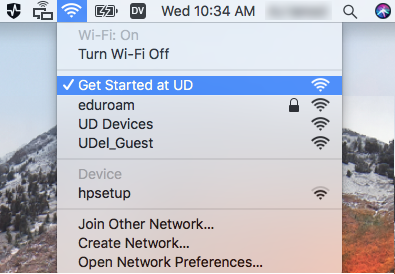 UD IT | Use Get Started at UD to sign-up for eduroam Wi-Fi