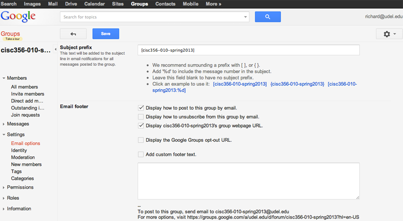 how to receive google invitation other than email