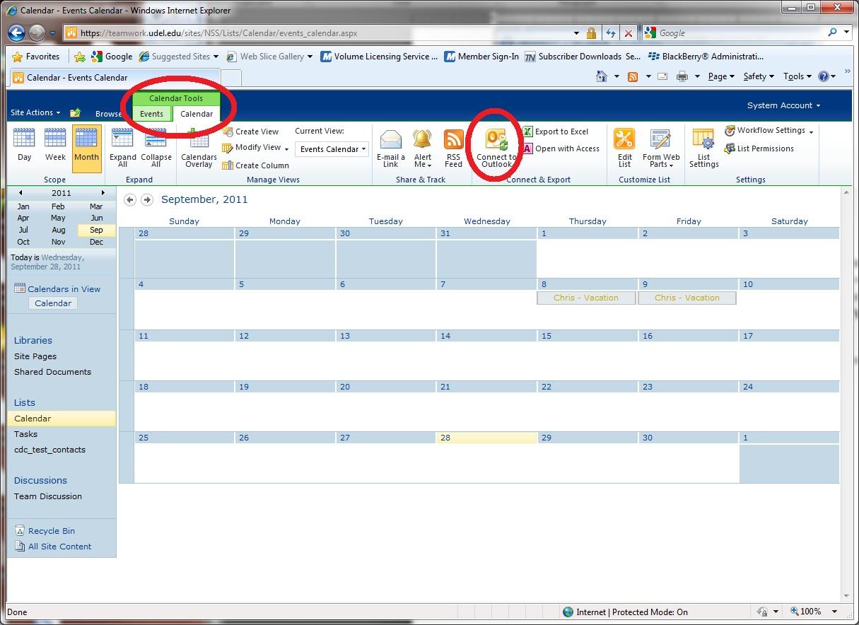 ud central exchange calendars