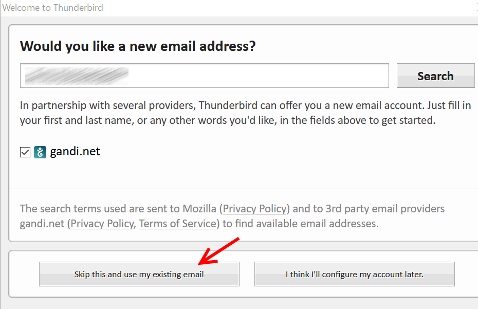 UD IT | Exchange Online: Configure Mozilla Thunderbird