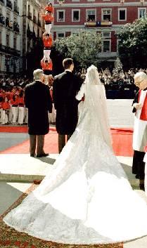 vestido de novia infanta cristina