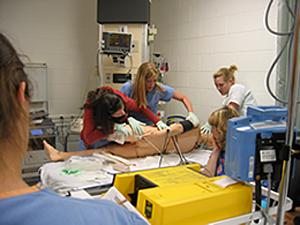 clinical critical sim lab