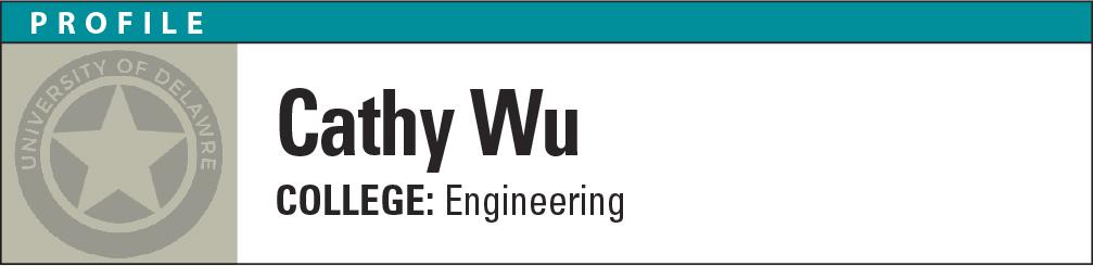 Profile: Cathy Wu