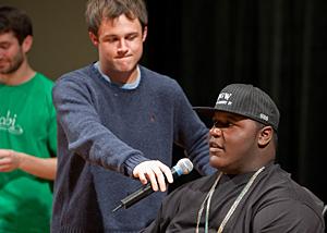 ud audience journeys west with darius at film screening rh www1 udel edu Darius GOES West Arrested Darius GOES West Lesson Plans
