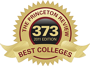 best colleges, princeton review, university of delaware