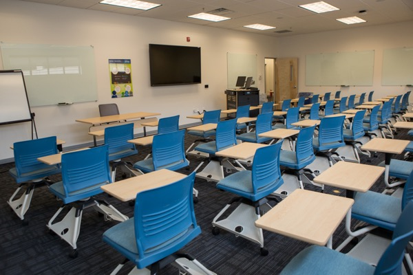 Classroom Design Competition ~ Lerner graduate site at one south main uses technology to