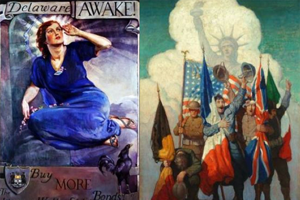 exhibit image: Delaware Awake! World War I at Home and Abroad