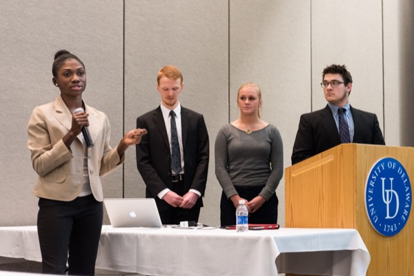 Senior design students in engineering at the University of Delaware collaborated with industry, clinicians and educators to address a broad range of health-related challenges.