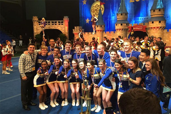 UD Co Ed Cheerleading Team Captures Second Straight National Title