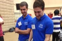 Zach Pearson and Adam Engelson