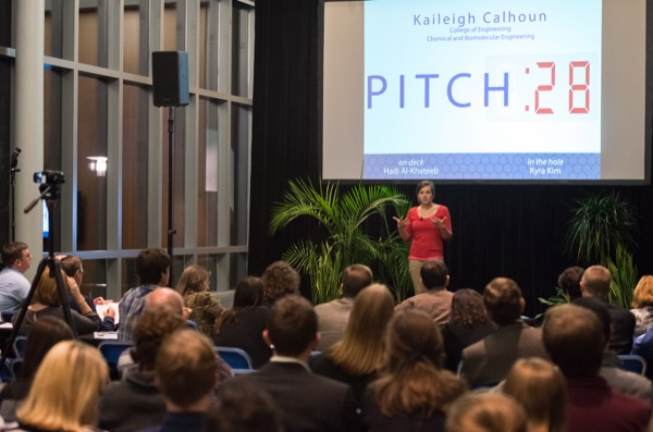 The deadline to apply for DENIN's annual elevator pitch ...