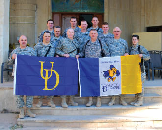 Alums in Iraq