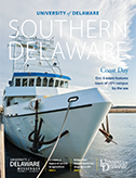 southern delaware magazine cover