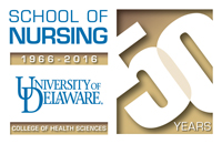 50th anniversary nursing logo