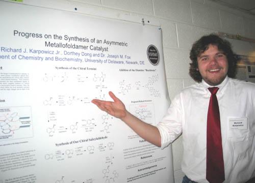 A synthesis experiment using diels alder reaction