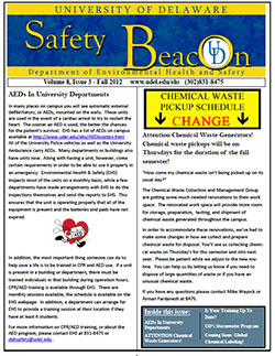 health and wellness newsletter template - cpr class registration environmental health safety