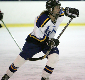 Ud learn to play hockey