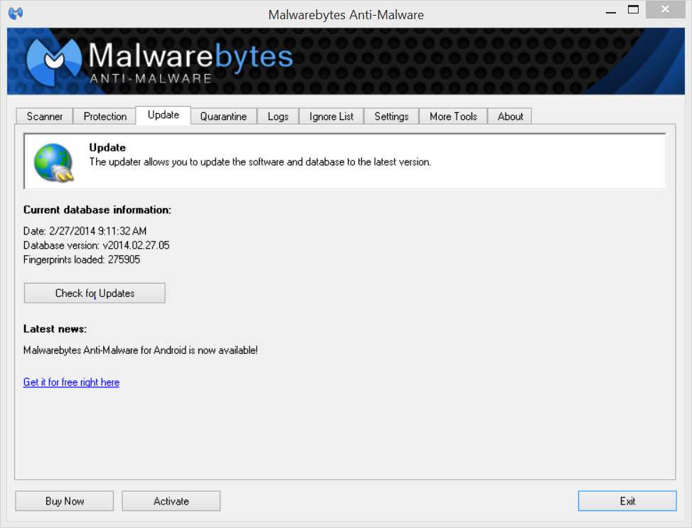 UD IT | Installing and Using Malwarebytes on Windows