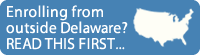 Please follow this link to the State Authorization page if you are enrolling from outside the state of Delaware