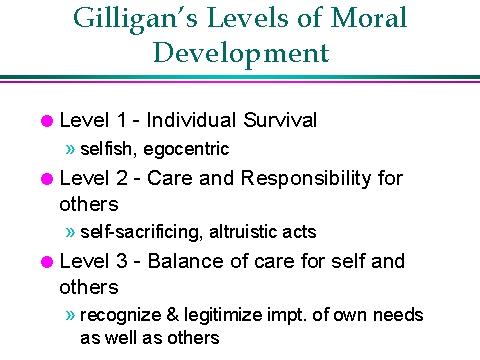 carol gilligan on moral development essay coursework academic service carol gilligan on moral development essay