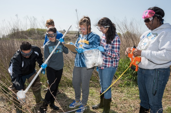 Biology, chemistry students team up for analysis of water
