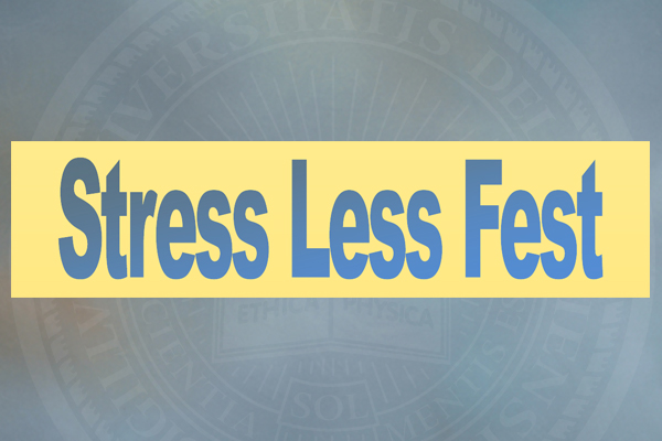 Campus Community Invited To Midterm Stress Less Fest On UD