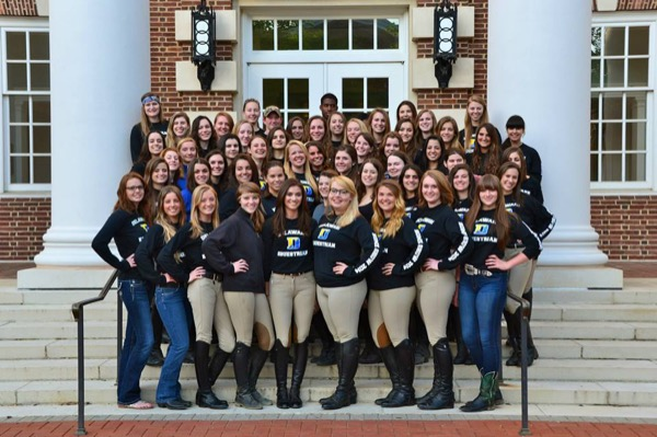 Ud S Equestrian Team Hits Stride At Fall Competitions